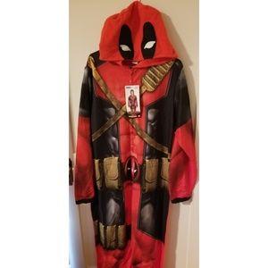 Marvel Deadpool Union Suit XL